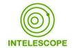 פיתוח אתר האינטרנט של intelescope