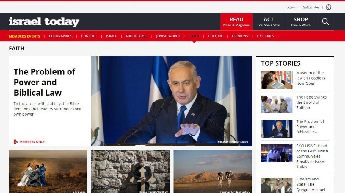 IsraelToday Magazine